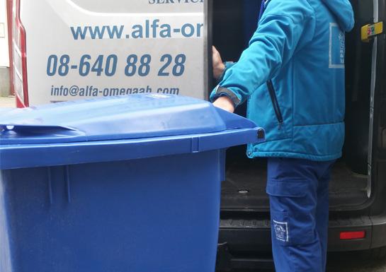 återvinningskärl
