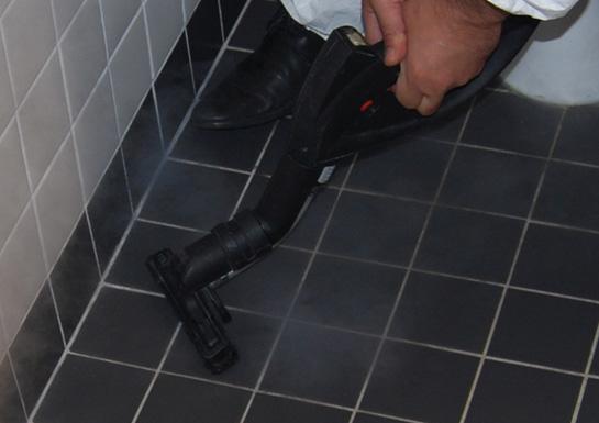 ångtvätt toalett