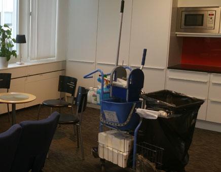 kontorsstädning lunchrum